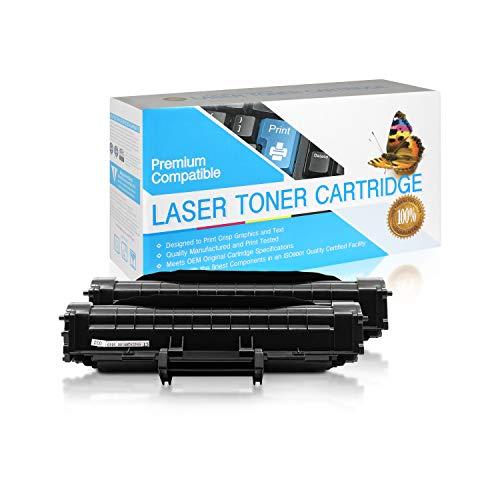 SuppliesOutlet Compatible Toner Cartridge Replacement for Samsung ML-1610D2 / ML1610D2 / ML-1610D3 / ML1610D3 / ML-2010D3 / ML2010D3 (Black,2 Pack)