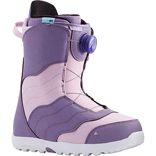 Burton Mint BOA Womens Snowboard Boots Sz 9 Purple/Lavender