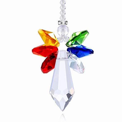 Tendaisy Gluckstucke Regenbogen Engel Kristall Sonnenfänger BUNT