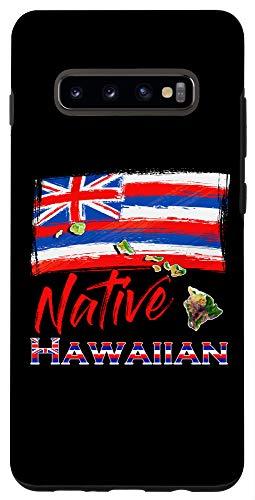 Galaxy S10+ Hawaiian Islands - Hawaii Flag Native Hawaiian Case