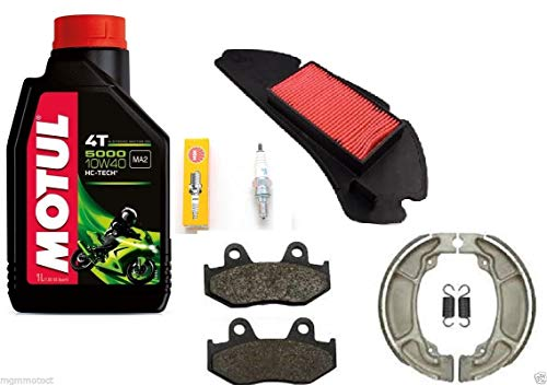 Kit de mantenimiento para Honda NES, PS, Dylan, SH 125/150 - Aceite Motul