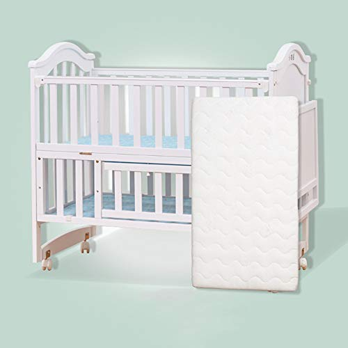 Learn More About Dzhyy Crib Multi-Function Game Bed Newborn Bed Can Be Stitched Children's Bed,White...