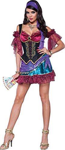 InCharacter Costumes Women's Flirty Fortune Teller Costume, Multi, Small
