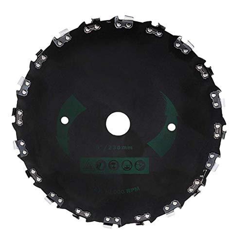 20-Dientes cuchilla del cortacésped ángulo recto sierra de cadena universal desbrozadora sierra de disco Jardín accesorios de la máquina de piezas