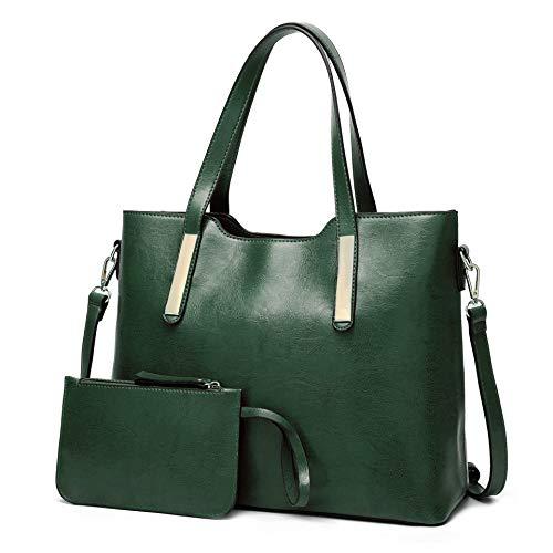 Damen ledertasche einfache big bag mehrteilige umhängetasche modetrend handtasche große kapazität umhängetasche-7