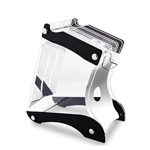 fevilady Bloque para cuchillos creativos transparentes, bloque de cuchillos, maletas, consejo, cuchillo de cocina, soporte de cuchillos y una estantería para cuchillos (color : A)