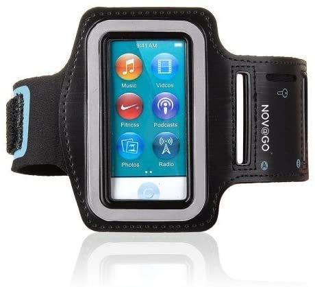 NOVAGO - Brazalete deportivo para iPod Nano 7, iPod 7G, material resistente y contorno reflectante