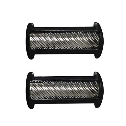 YanBan - Láminas de repuesto para afeitadora Philips Bodygroom BG2024 BG2025 BG2026 BG2028 BG2036 BG2038 BG2040, 2 láminas de afeitar para Philips Norelco XA2029 XA525 TT2021 YS522