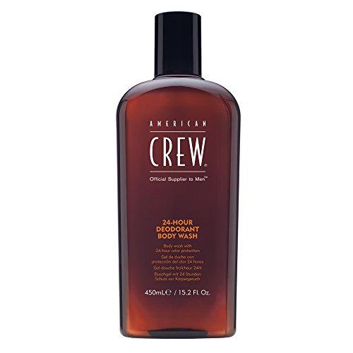 AMERICAN CREW 24 HOUR Deodorant Duschgel , 1er Pack (1 x 450 ml)