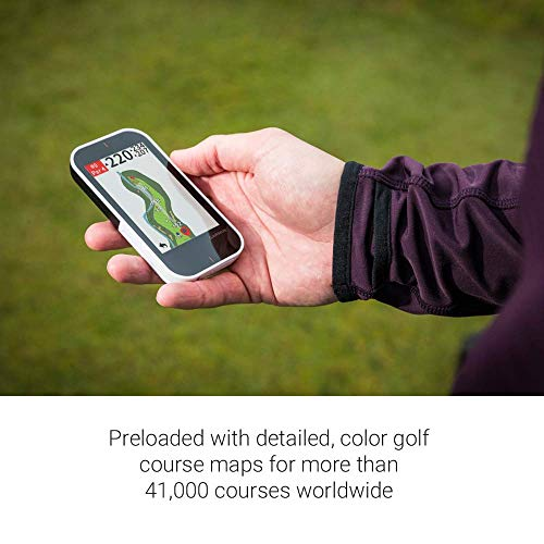 Garmin Approach G80 - All-in-one Premium GPS Golf Handheld Device with Integrated Launch Monitor