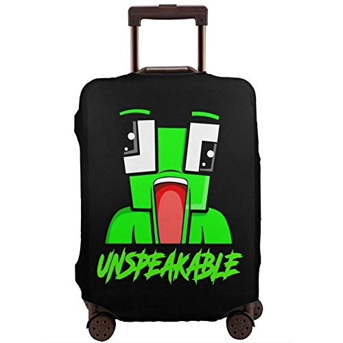 Un-Speak-Able Fashion Suitcase Protective Cover,Suitcase Protective Cover,Scratch-Resistant,dust-Proof and Waterproof, Washable,Suitable for 18-32 inches