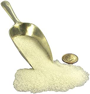 White Imported German Glass Glitter - 1 Ounce Jar - Fine 90 Grit (Most Popular Grain Size) Sparkly Glass Glitter - 311-9-WH