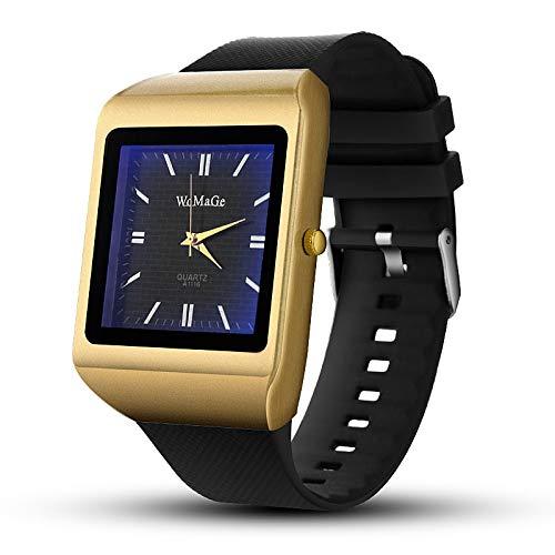 CNBB Fashion Business HerrenuhrenMature Black Strap Watch Großzügige Handsome Quarzuhr