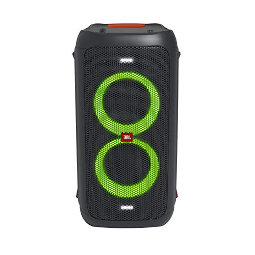 powered wireless speakers JBL PartyBox 100 - High Power Portable Wireless Bluetooth Party Speaker