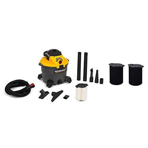 Find Bargain WORKSHOP Wet/Dry Vacs WS1200DE Heavy Duty Wet Dry Shop Vacuum with Detachable Blower Bu...