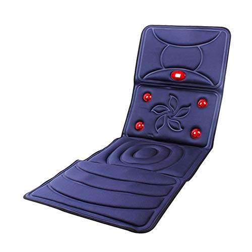 CGBF massagestoelkussen rug massage-apparaat massagemat met warmte, ontspanning, schouders rug en heupen, pijnverlichting