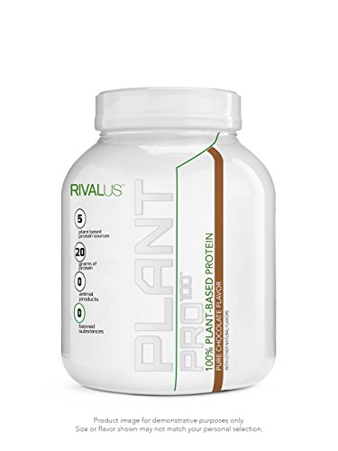 Rivalus Plant Pro - 20 Servings - Pure Chocolate, 670 g