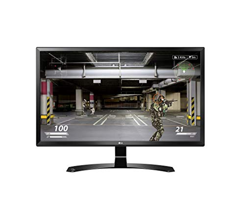 LG 27UD58-B 68,58 cm (27 Zoll) UHD 4K IPS Monitor (AMD FreeSync, DAS Mode, New Cinema Screen), schwarz