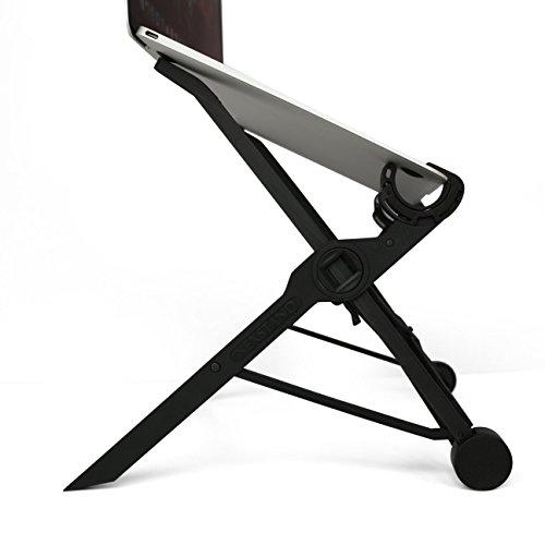 NEXSTAND K2 - Soporte para Ordenador portátil, Tableta, MacBook Altura Ajustable a 30 cm, Plegable, portátil