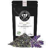 Edward Fields Tea ® - Té blanco orgánico a granel con Lavanda. Té bio recolectado a mano con...