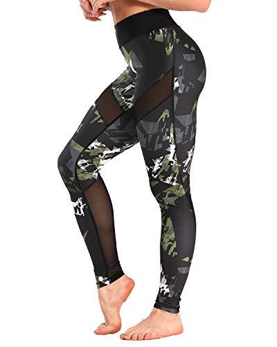 YOFIT Women Sports Mesh Trouser Gym…