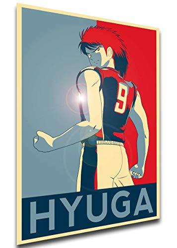 Instabuy Poster Propaganda - Captain Tsubasa - Holly & Benji - Kojiro Hyuga A3 42x30cm