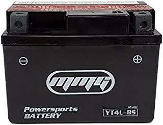 MMG YTX4L-BS 4L-BS 12v Battery for Honda, Hyosung, SYM, Yamaha 50cc Scooters