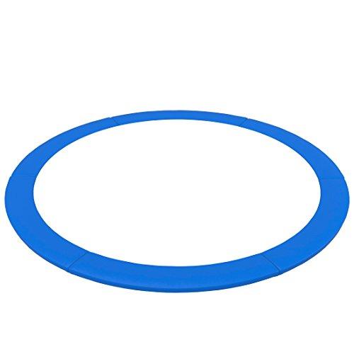 Ultrasport Borde de Cama Elástica Uni Jump, Cubierta de Muelles para Trampolín o Cama Elástica de Aprox. 183, 244, 305, 366 y 460 cm, Azul