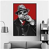 NRRTBWDHL Die Notorious Big Hip Hop Rap Star Musik Poster