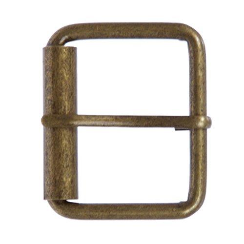 beltiscool Hebilla de latón para cinturón de 1 3/4 pulgadas (45 mm) Antique Brass Talla única