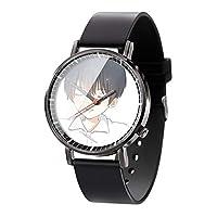 ボーイズ腕時計かわいい漫画の子供はアニメの男の子の女の子の防水水晶電子時計の注文の腕時計を見ますカラーB