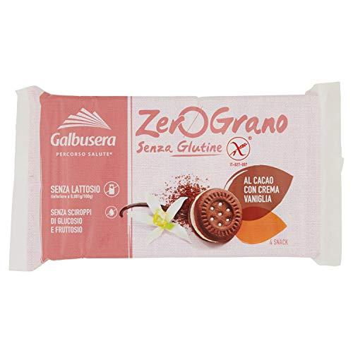 Galbusera Zerograno Biscotti senza Glutine con Cacao, 160g