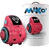 Miko My Companion 2: Playful Learning STEM Robot Programmable + Voice Activated AI Tutor + Autonomous + Educational Games 30+ Free Apps Best Birthday for 5 6 7 8 9 Boys and Girls