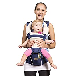 Bebamour New Style Designer Sling and Baby Carrier 2 in 1,Approved by U.S. Safety Standards