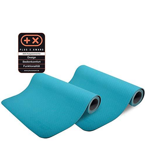 Schildkröt TPE BICOLOR Partnerkombi Yogamatten Yoga Pilates Gymnastik