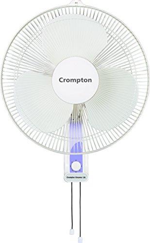 Crompton HiFlo Wave 16-inch Wall Mount Fan (White)