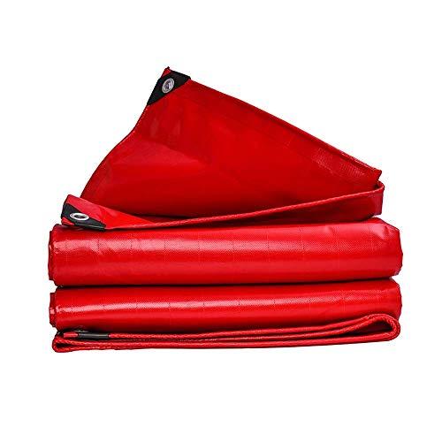 ZXL waterdicht dekzeil voor buiten, zonwering, waterdicht, PVC-kunststof, dik, geschikt voor parasol, vrachtwagen, paraplu, heavy duty stoomreiniger (maat: 3 x 5 m) 4x8m