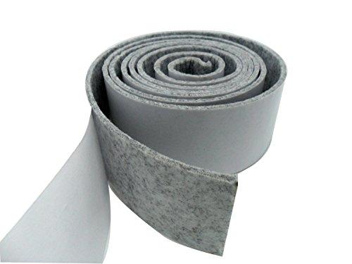 Tetedeer 床のキズ防止テープ 自由にカットして使用可 幅5cm 長200cm (グレー)