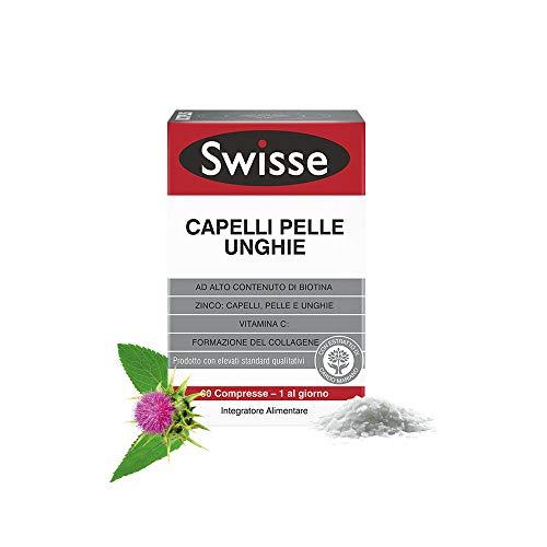Swisse Integratore Capelli Pelle Unghie - 60 compresse