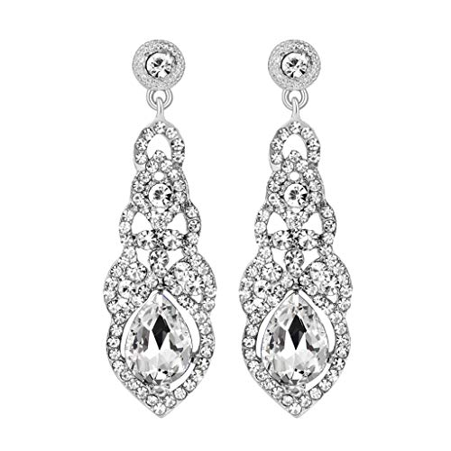 UINGKID Damen Ohrringe Mode Ohrstecker Vintage Luxus voller Diamant Temperament Schmuck