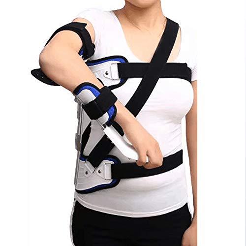 WDDMFR Schulterluxationsorthese, verstellbares, atmungsaktives Schulterabduktionskissen Geeignet für Erwachsene