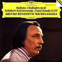 Michelangeli Plays Brahms (Ballades, op. 10) & Schubert (Piano Sonata in A minor, D.537) On Early 20th-Century Piano