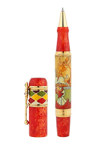 Ancora Limited Edition Circus Roller Ball Pen Only 88 pieces were exclusively Hand Made in Italy Since 1919 Each pen is numbered and comes with a Gift Box
