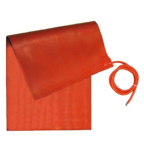 Buy Bargain BriskHeat SRP24362 SRP Silicone Rubber Heating Blanket, 240V, W x L: 24 x 36-Inch