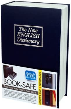 bulk buys Hidden Jacksonville Mall Dictionary Book Safe 2 Case of Max 50% OFF