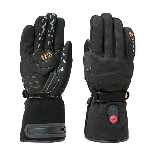 30seven verwarmbare fietshandschoenen voor dames en heren, in het zwart, hoogwaardige fietshandschoenen, verwarmd voor de winter, bike, mountainbike, racefiets, wielrennen, wielrennen, 30seven
