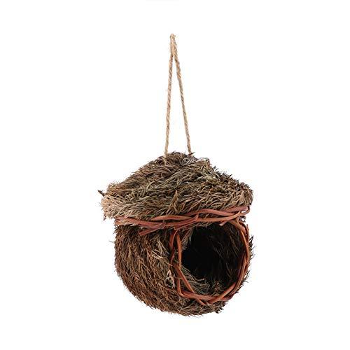 SALUTUYA Casa para pájaros con Hojas de Cedro para pájaros, Animales Peludos