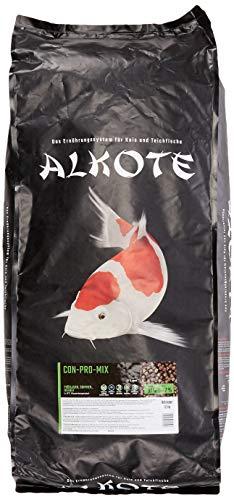 AL-KO-TE, 3-Jahreszeitenfutter für kleine Kois, Frühjahr bis Herbst, Schwimmende Pellets, 6 mm, Hauptfutter Conpro Mix, 13,5 kg
