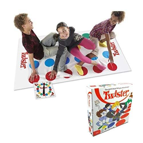BLxi - Coperta da gioco Twister per bambini, adulti, bambine, grandi regali