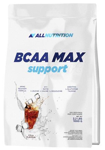 All Nutrition BCCA Max Soporte Proteína Carbohidratos Complejo Entrenamiento Musculturismo Polvo, Limón 1000 g
